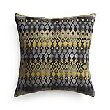 "Peira 16"" Pillow with Feather-Down Insert"