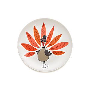 "Pilgrim Turkey 10.5"" Melamine Plate"