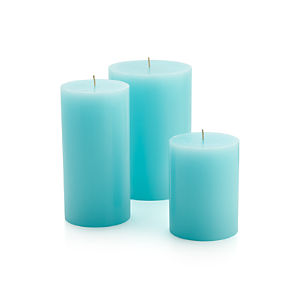 Aquarelle Pillar Candles