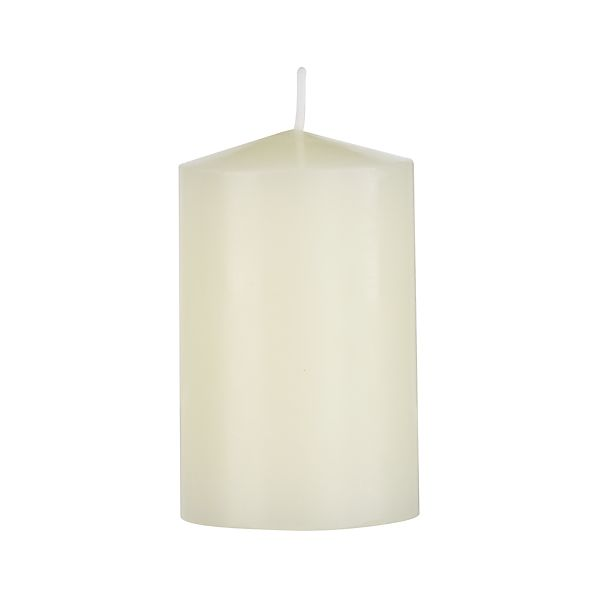 "Ivory 2""x3"" Pillar Candle"