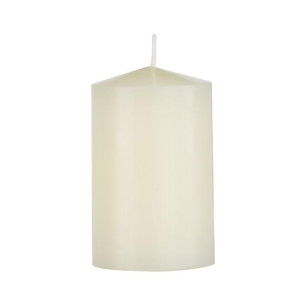 "Ivory 2""x3"" Pillar Candle"