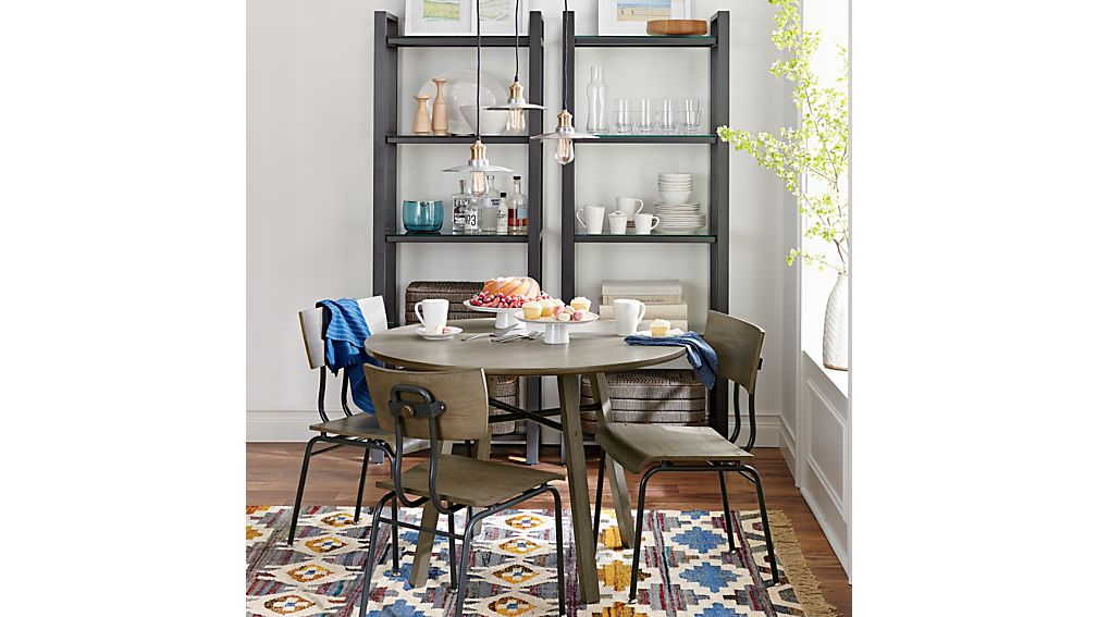 Scholar Round Dining Table : Crate and Barrel