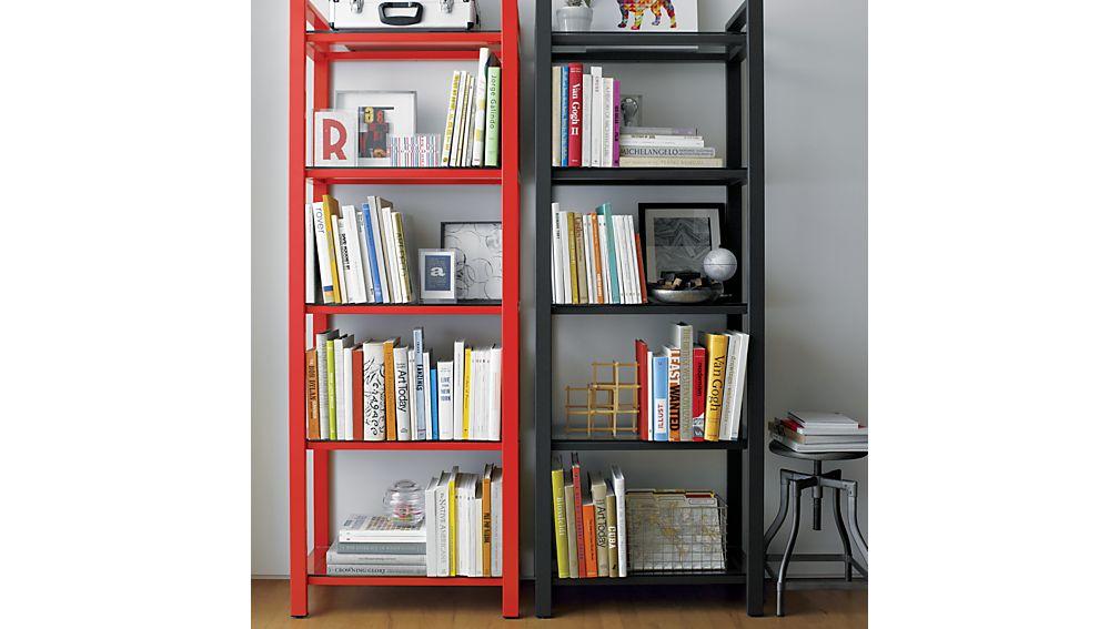 Pilsen Graphite Bookcase