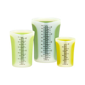 3-Piece Pinch & Pour Measuring Cup Set
