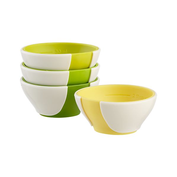 Mini Pinch & Pour Prep Bowls Set of Four