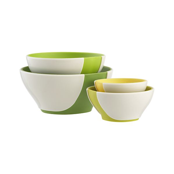 4-Piece Pinch & Pour Prep Bowl Set