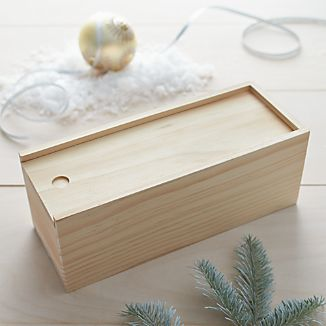Rectangle Pine Gift Box