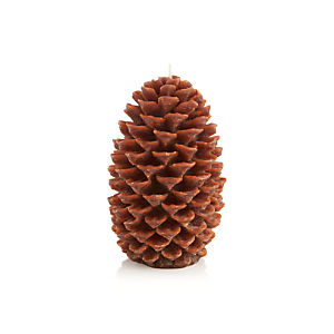 Pinecone Small Candle