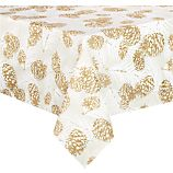 "Pinecone 60""x108"" Tablecloth"