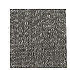"Piper Charcoal 12"" sq. Rug Swatch"