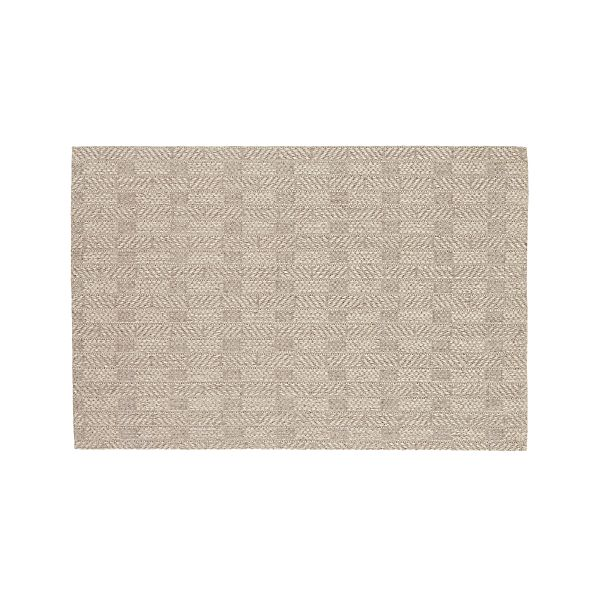 Crate And Barrel Bath Rugs: Piper Linen Sisal 8'x10' Rug