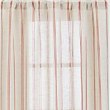 "Pippa Persimmon 50""x108"" Curtain Panel"