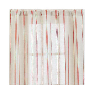Pippa Persimmon Curtain Panels