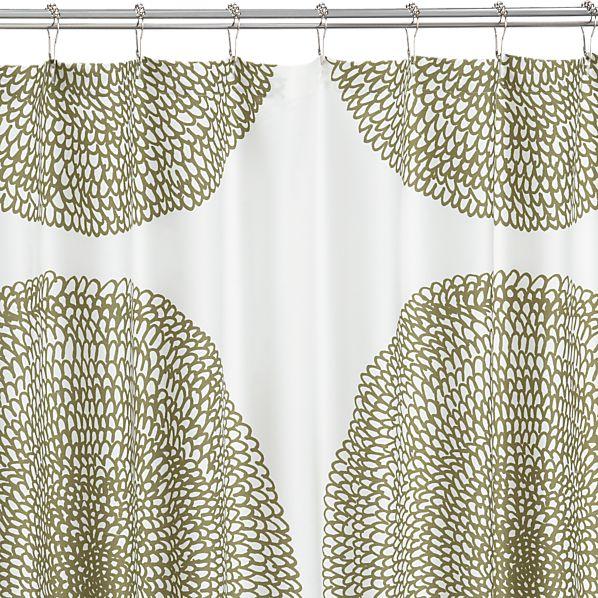 Marimekko Pippurikera Sage Shower Curtain