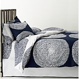 Marimekko Pippurikera Navy Bed Linens
