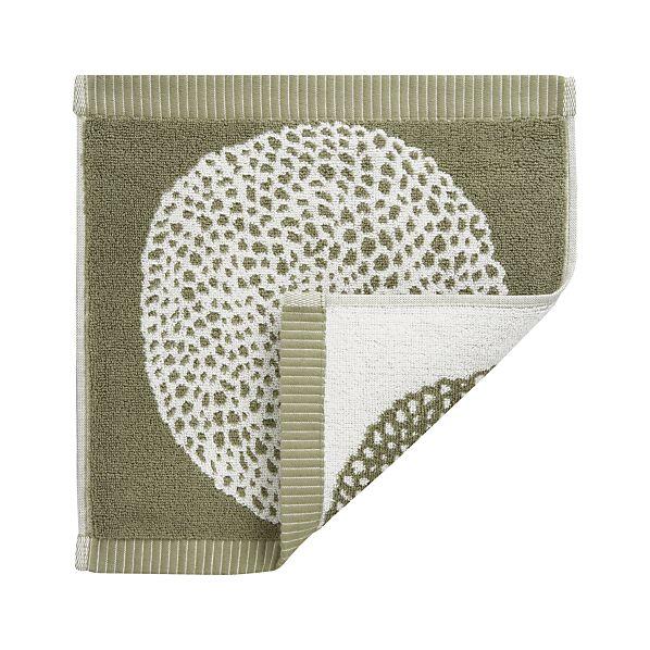 Marimekko Pippurikera Sage Washcloth