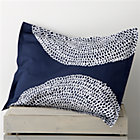 Pippurikera Navy Standard Pillow Sham.