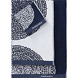 Marimekko Pippurikera Navy Bath Towels