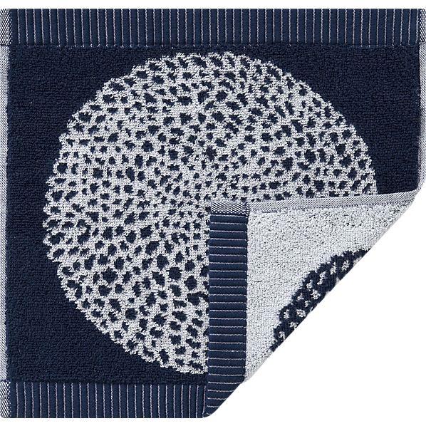 Marimekko Pippurikera Navy Washcloth