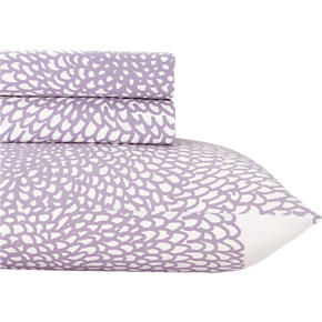 Marimekko Pippurikera Wisteria Twin Extra-Long Sheet Set