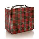 Plaid Lunch Box