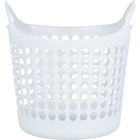 Small White Plastic Basket
