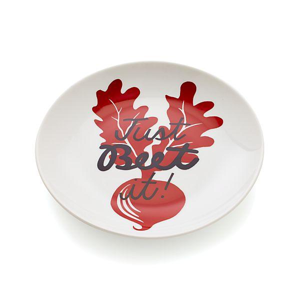 Beet Pun Plate
