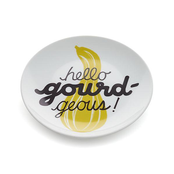 Gourd Pun Plate