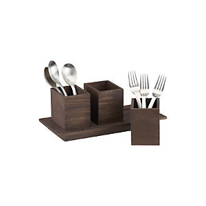Plateau Flatware Caddy