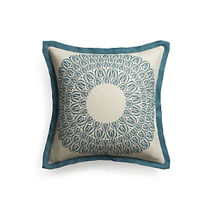 "Pluma 20"" Pillow with Down-Alternative Insert"