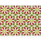 Poinsettia Placemat.