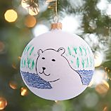 Limited-Release Polar Bear Ball Ornament