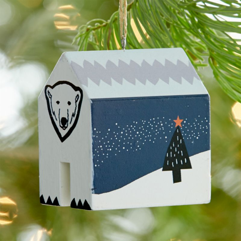 Charity Polar Bear Ornament
