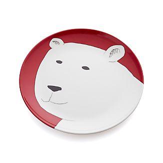 "Polar Bear 9"" Melamine Plate"
