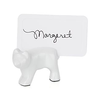 Polar Bear Placecard Holder