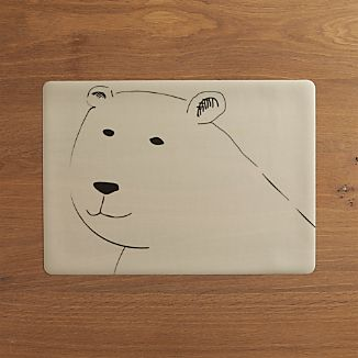 Polar Bear Easy Care Placemat