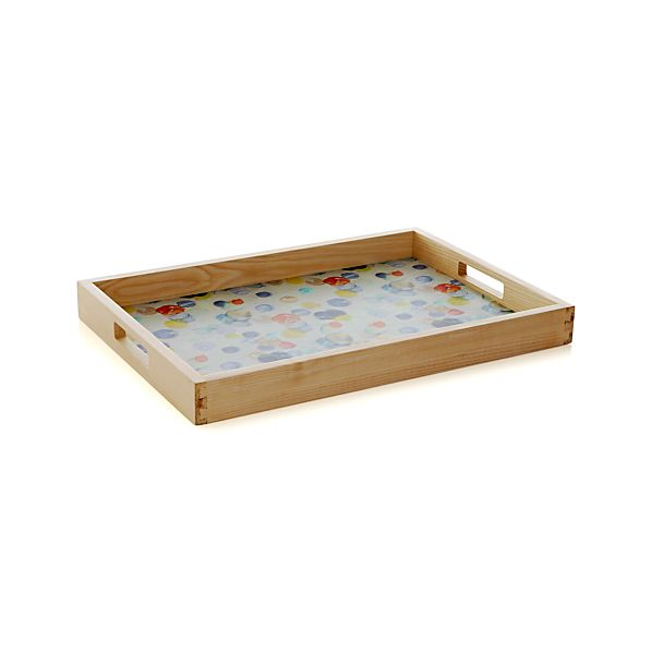Polka Dot Serving Tray