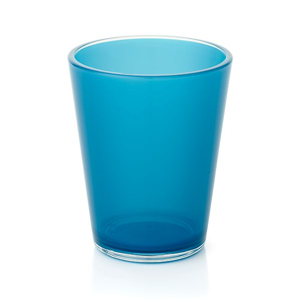 Pop Blue Acrylic 15 oz. Drink Glass