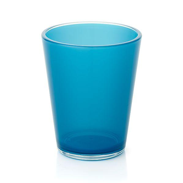 Pop Blue Acrylic 15 oz. Drink Glass