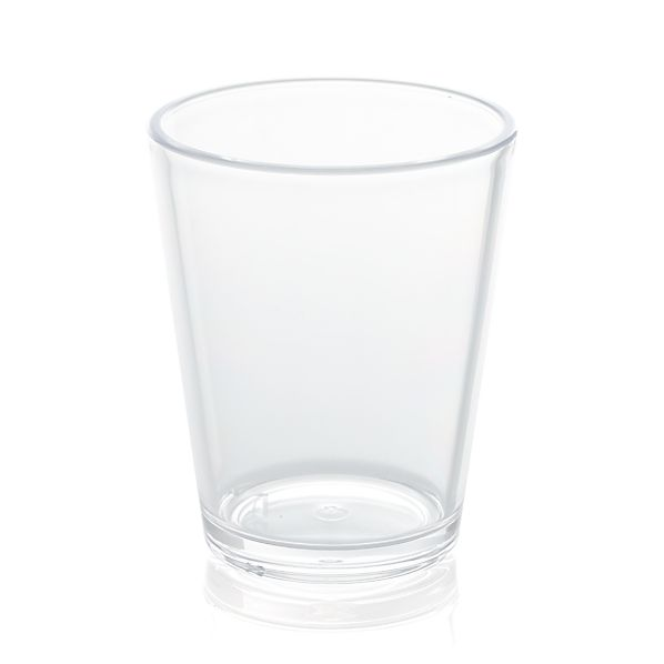 Pop Clear Acrylic 15 oz. Drink Glass