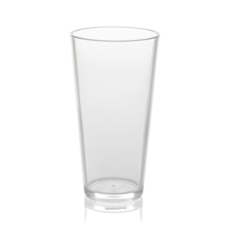 Pop Clear Acrylic 24 Oz Drink Glass Crate And Barrel