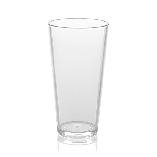 Pop Clear Acrylic 24 oz. Drink Glass
