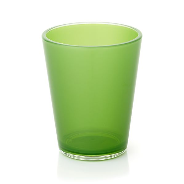 Pop Green Acrylic 15 oz. Drink Glass