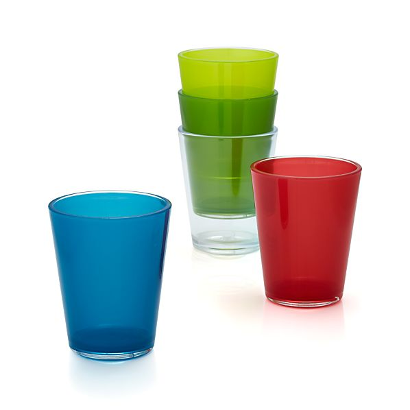 Pop Acrylic 15 oz. Drink Glasses