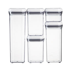 OXO 5-Piece Pop Container Set