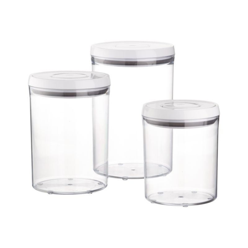 Round Storage Containers Round Containers With Lids