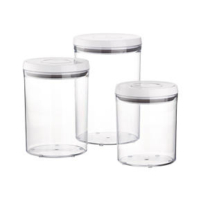 3-Piece OXO Pop Round Containers with Lids Set