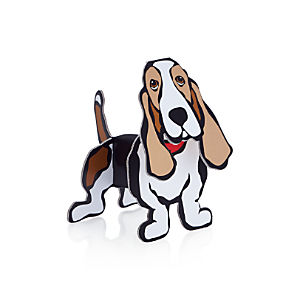 Pop Out Basset Hound