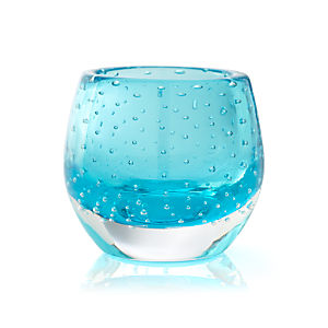 Pop Aqua Tealight Holder