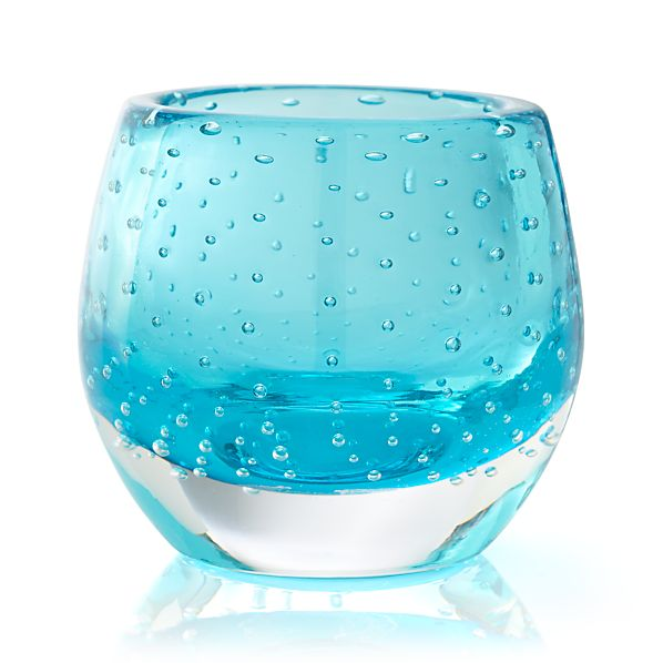 Pop Aqua Candleholder